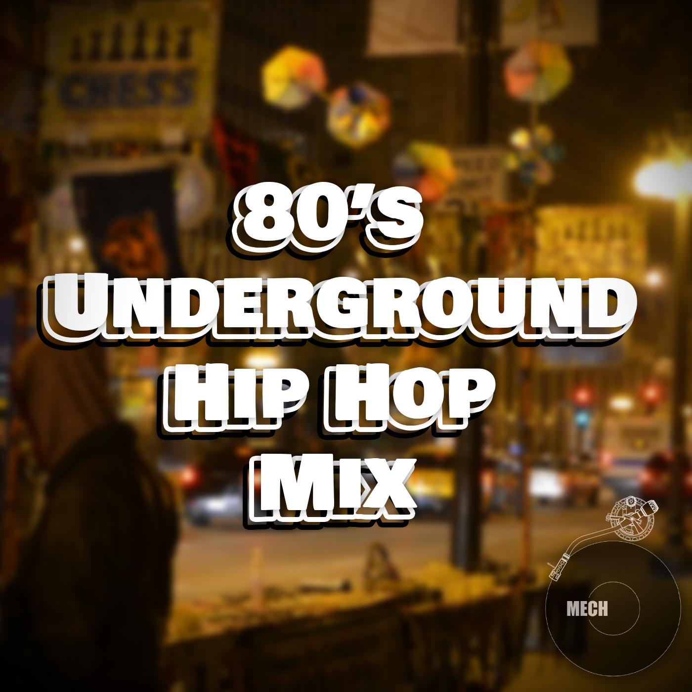 80s Underground Hip Hop Cvr